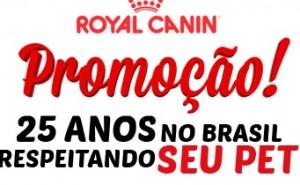 www.promocao25anosroyalcanin.com.br, Promoção Royal Canin – 25 Anos