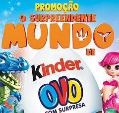 kinder.com.br, Promoção O Surpreendente Mundo de Kinder Ovo