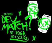 www.guaranaantarctica.com.br/deumatch, Promoção Guaraná Antarctica Black Deu Match