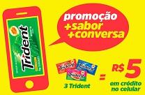 www.maisconversacomtrident.com.br, Promoção +Conversa +Sabor Trident
