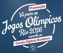 banco.bradesco/promocaocanais, Promoção Jogos Olímpicos Canais Digitais Bradesco