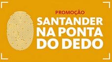 www.santander.com.br/promoferrari, Promoção Santander na Ponta do Dedo Ferrari
