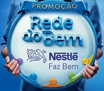 www.rededobemnestle.com.br, Promoção Rede do Bem Nestlé Faz Bem