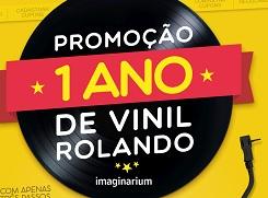 MUSICA.IMAGINARIUM.COM.BR, PROMOÇÃO IMAGINARIUM 1 ANO DE VINIL ROLANDO