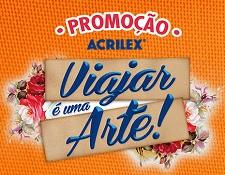 WWW.VIAJAREUMAARTE.COM.BR, PROMOÇÃO ACRILEX VIAJAR É UMA ARTE