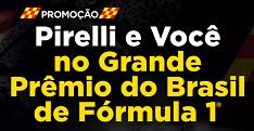 www.pirellievocenogpbrasil.com.br, Promoção Pirelli e você no GP Brasil