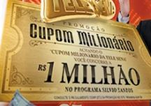PROMOÇÃO CUPOM MILIONÁRIO TELE SENA