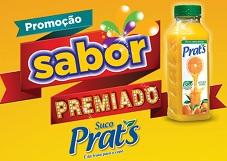 WWW.SABORPREMIADOPRATS.COM.BR, PROMOÇÃO SABOR PREMIADO SUCO PRAT'S