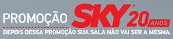 WWW.SKY20ANOS.COM.BR, PROMOÇÃO 20 ANOS SKY