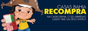 WWW.CASASBAHIA.COM.BR/RECOMPRA, CASAS BAHIA RECOMPRA